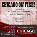 Chicago on Fire concert promotional poster