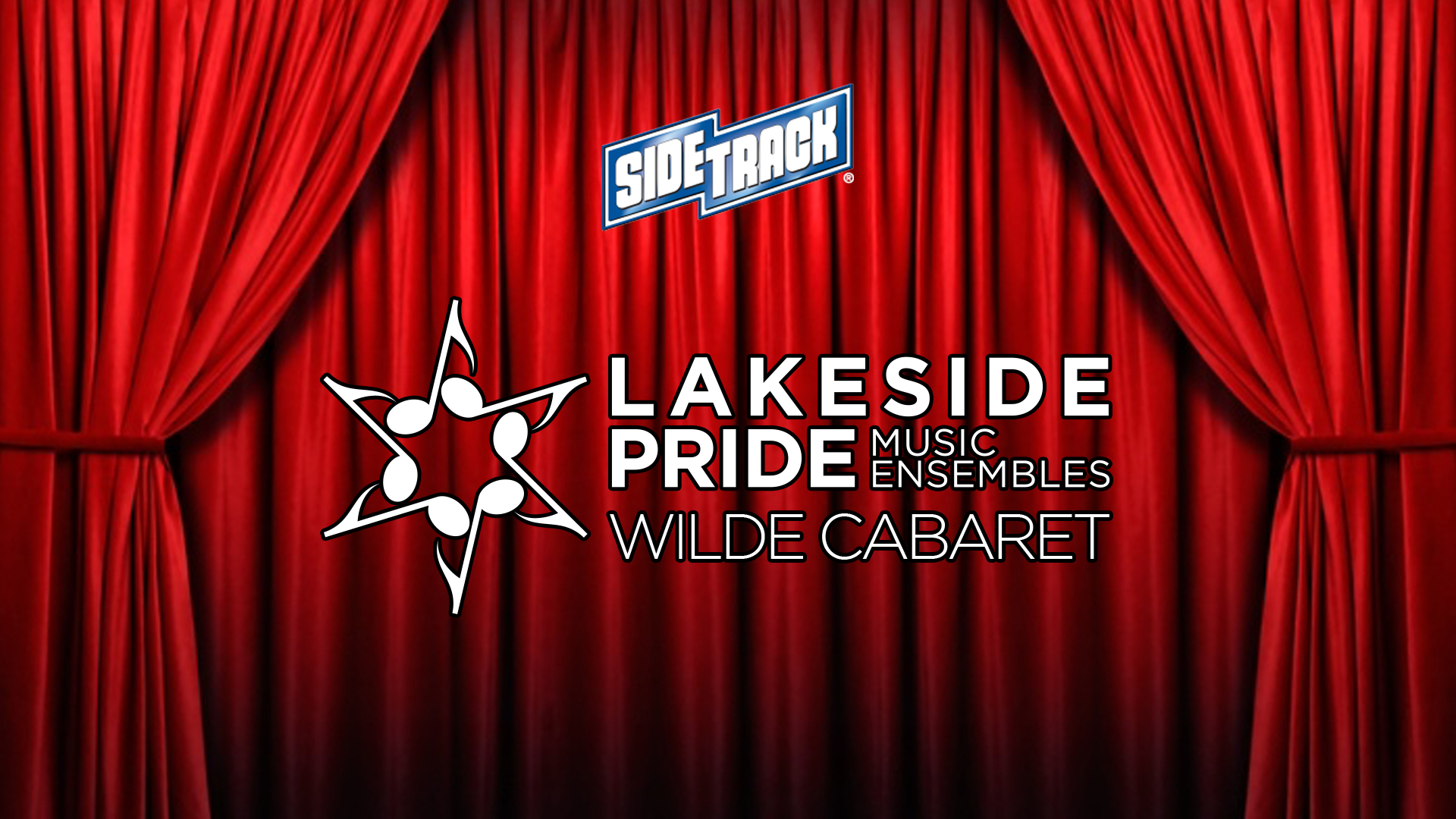 Lakeside Pride Wilde Cabaret at Sidetrack promotional graphic